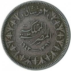 Moneta > 2piastry, 1937-1942 - Egipt  - reverse