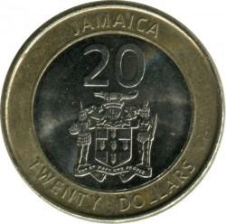 Münze > 20Dollar, 2008-2015 - Jamaika  - obverse