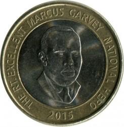 Münze > 20Dollar, 2008-2015 - Jamaika  - reverse