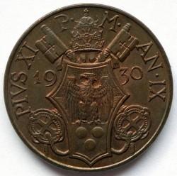 Moneta > 10centesimi, 1929-1937 - Watykan  - obverse