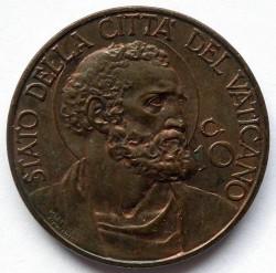 Moneta > 10centesimi, 1929-1937 - Watykan  - reverse
