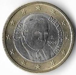 Moneda > 1euro, 2008-2013 - Ciudad del Vaticano  - obverse