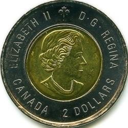 Moneda > 2dólares, 2014 - Canadá  (75 aniversario - Segunda Guerra Mundial) - obverse
