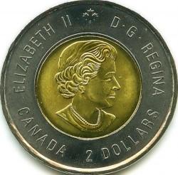 Moneda > 2dólares, 2016 - Canadá  (75 aniversario - Batalla del Atlàntico) - obverse