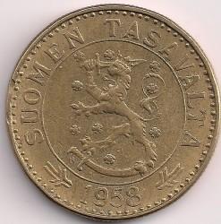 Münze > 20Mark, 1958 - Finnland  - obverse