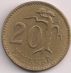 Münze > 20Mark, 1958 - Finnland  - reverse