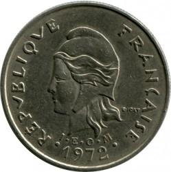 Монета > 10франков, 1972-2005 - Новая Каледония  - obverse