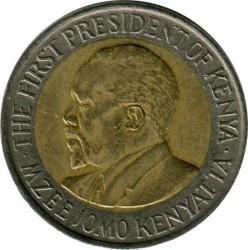 Монета > 5шиллингов, 2005-2009 - Кения  - reverse