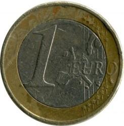 Монета > 1евро, 2002-2006 - Греция  - reverse