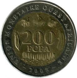Moneda > 200francs, 2003-2017 - Àfrica Occidental (BCEAO)  - reverse