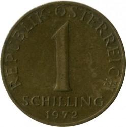 Coin > 1schilling, 1972 - Austria  - obverse