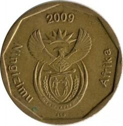 Монета > 50центов, 2009 - ЮАР  - obverse