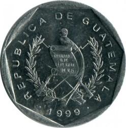 Moneta > 1centavo, 1999-2007 - Gwatemala  - obverse
