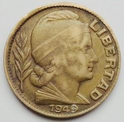 硬币  /> 20分, 1942-1950 - 阿根廷 - obverse
