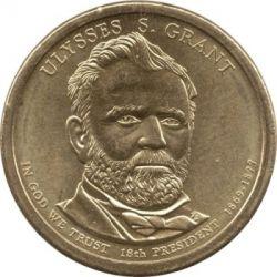 Moneta > 1dollaro, 2011 - USA  (Presidenti USA - Ulysses S. Grant (1869-1877)) - obverse