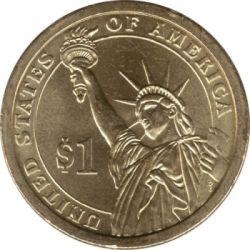 Moneta > 1dollaro, 2011 - USA  (Presidenti USA - Ulysses S. Grant (1869-1877)) - reverse
