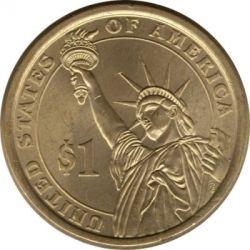 Pièce > 1dollar, 2015 - États-Unis d'Amérique  (Président des États-Unis - Dwight D. Eisenhower (1953-1961)) - reverse