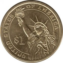 Münze > 1 Dollar, 2015 - USA  (President of the USA - John Kennedy (1961–1963)) - reverse
