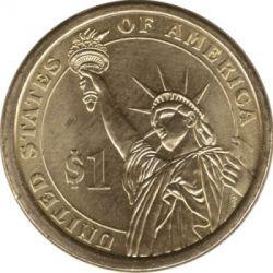 Moneda > 1dólar, 2012 - Estados Unidos  (Presidente de los EE. UU. - Benjamin Harrison (1889–1893)) - reverse