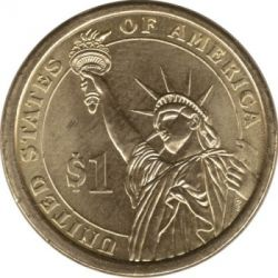 Moneta > 1dollaro, 2012 - USA  (President of the USA - Benjamin Harrison (1889–1893)) - reverse