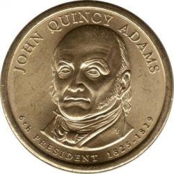 Moneda > 1dollar, 2008 - Estats Units  (President dels EUA - John Quincy Adams (1825-1829)) - obverse