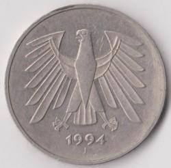 Münze > 5Mark, 1994 - Deutschland  - obverse