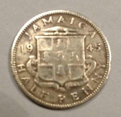 ½ penny 1938-1947, Jamaica - Coin value - uCoin net