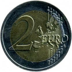 Монета > 2євро, 2016 - Латвія  (Латвійська бура корова) - obverse
