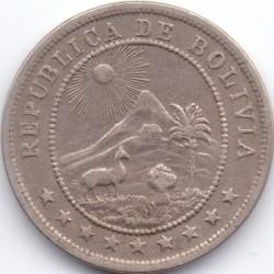 Münze > 10Centavos, 1935-1939 - Bolivien  - obverse