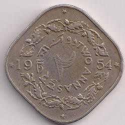 Монета > 2анны, 1953-1959 - Пакистан  - reverse