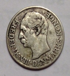 Coin > 25ore, 1911 - Denmark  - reverse