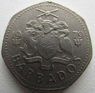 1 Dollar 1979 Barbados Münzen Wert Ucoinnet