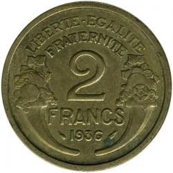 Moneta > 2franki, 1931-1941 - Francja  - reverse
