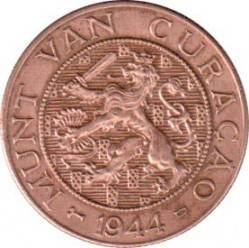 Pièce > 2½cents, 1944-1948 - Curaçao  - reverse