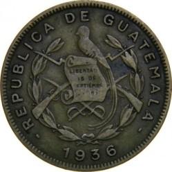 Монета > 1сентаво, 1932-1949 - Гватемала  - obverse