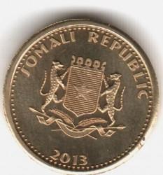 Монета > 20шиллингов, 2013 - Сомали  - obverse