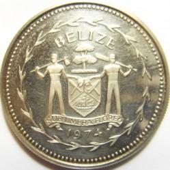 Münze > 5Dollar, 1974-1981 - Belize  - obverse