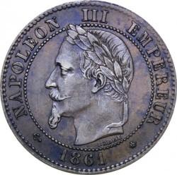 Moneta > 2centymy, 1861-1862 - Francja  - obverse
