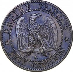 Moneta > 2centymy, 1861-1862 - Francja  - reverse