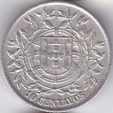 Moneda > 10centavos, 1915 - Portugal  - obverse