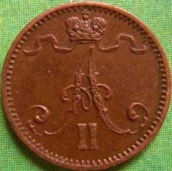 Moneta > 1penni, 1864-1876 - Finlandia  - obverse
