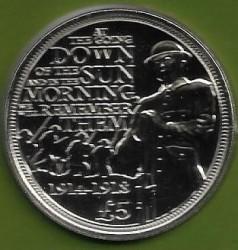 Moneta > 5svarai, 2015 - Gernsis  (100th Anniversary - 1st World War) - reverse