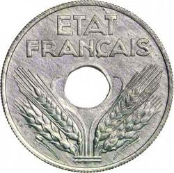 Münze > 20Centime, 1942 - Frankreich  - obverse