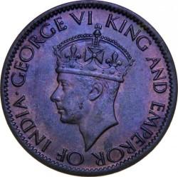 Coin > 1cent, 1942-1945 - Ceylon  - obverse