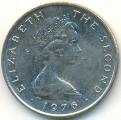 Монета > 5пенса, 1976-1979 - Остров Ман  - reverse