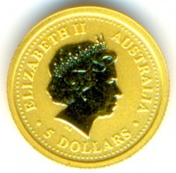 Moneta > 5dollari, 2002 - Australia  (Anno lunare - Anno del cavallo) - reverse