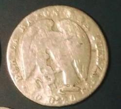 Moneta > 1real, 1843-1850 - Cile  - obverse