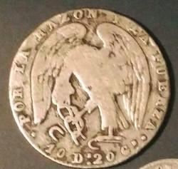 Νόμισμα > 2Ρεάλ, 1843-1852 - Χιλή  (Diameter 23mm) - obverse