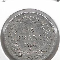 Moneta > ¼franka, 1834-1844 - Belgia  - obverse