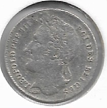 Moneta > ¼franka, 1834-1844 - Belgia  - reverse